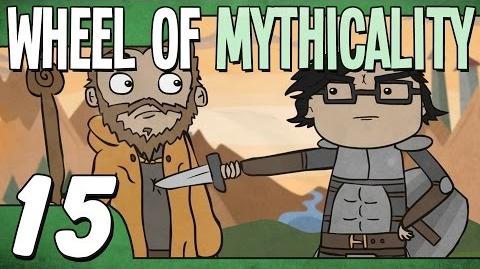 Knights Fighting A Dragon (Wheel of Mythicality - Ep