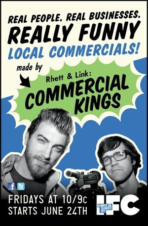 Commercial Kings Poster
