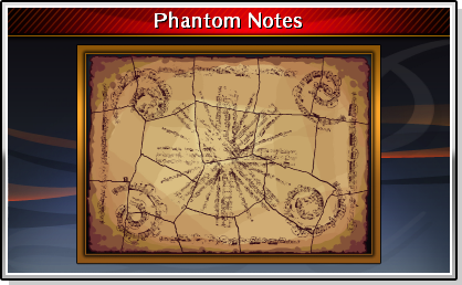 Finished Phantom Notes
