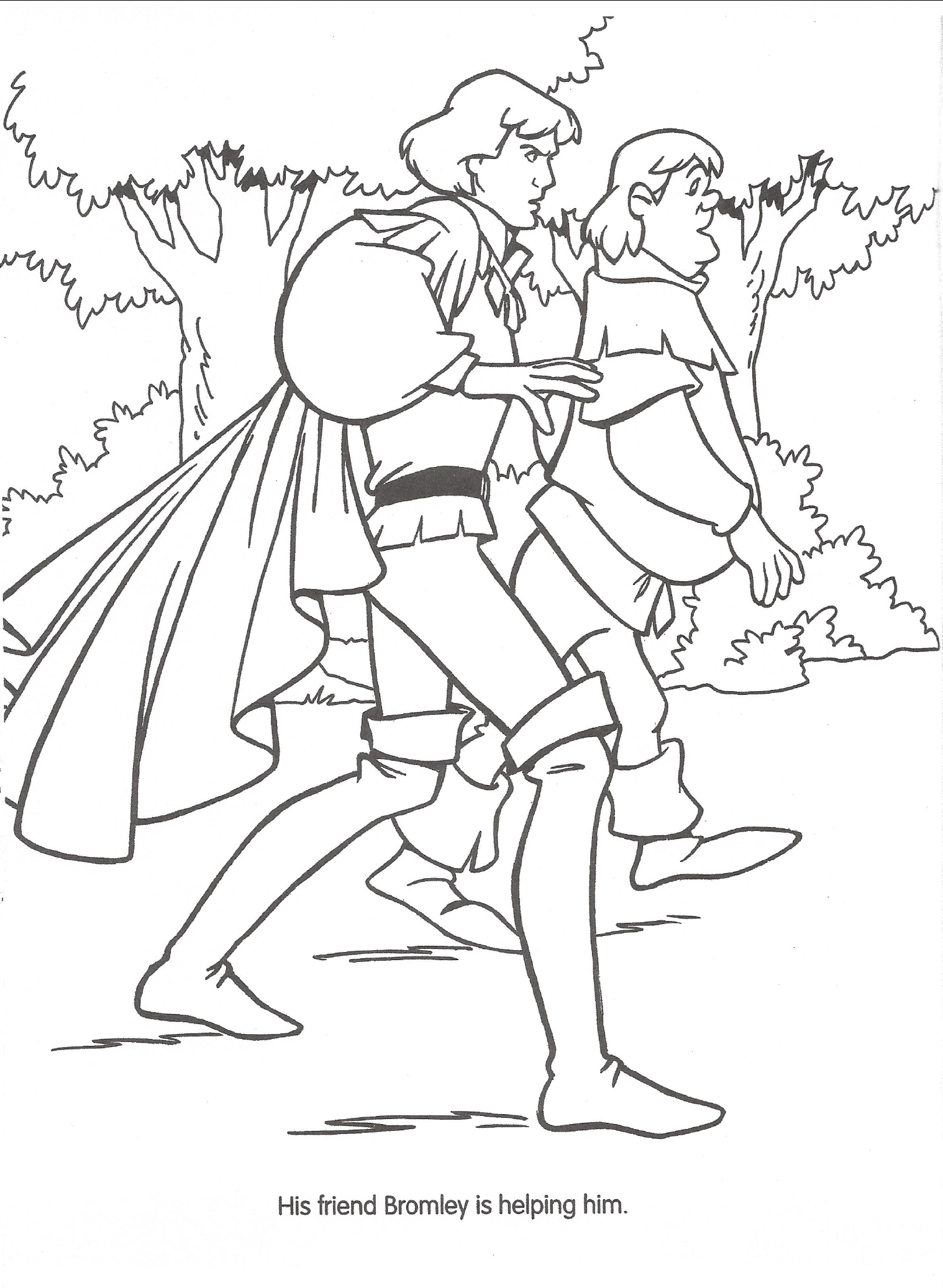 Swan princess coloring pages free - File Swan Princess Official Coloring Page 25 Png