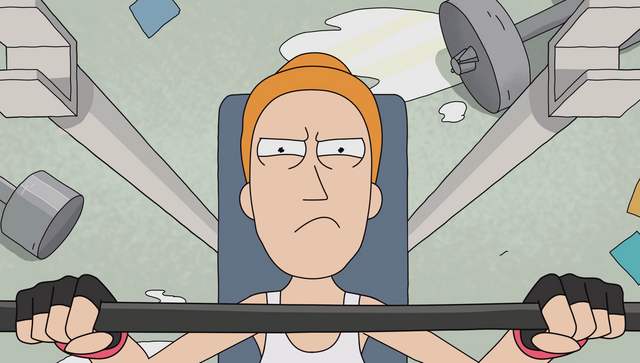 File:S1e9 summer rick workout.png