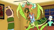 Jerry beats mantis davin