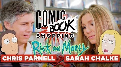 Sarah Chalke & Chris Parnell Talk Rick and Morty Season 3 and Go Comic Book Shopping