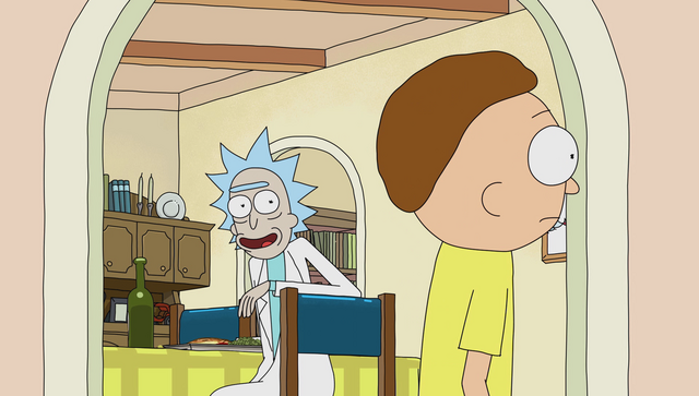 File:S1e9 rick happy to see morty.png