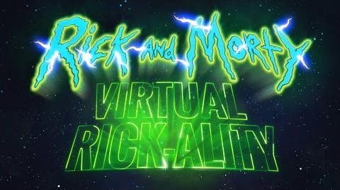 Rick and Morty Virtual Rick-ality Available Now Adult Swim Games