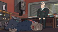 S2e5 pres knocked out