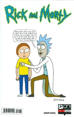 Issue 1 Justin Roiland