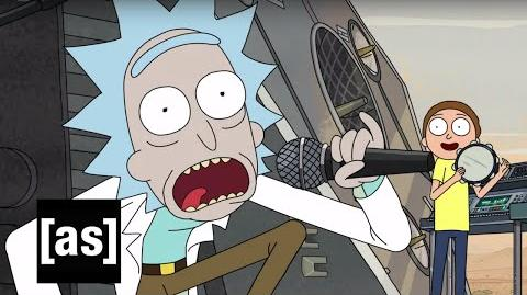 Get Schwifty Music Video Rick and Morty Adult Swim