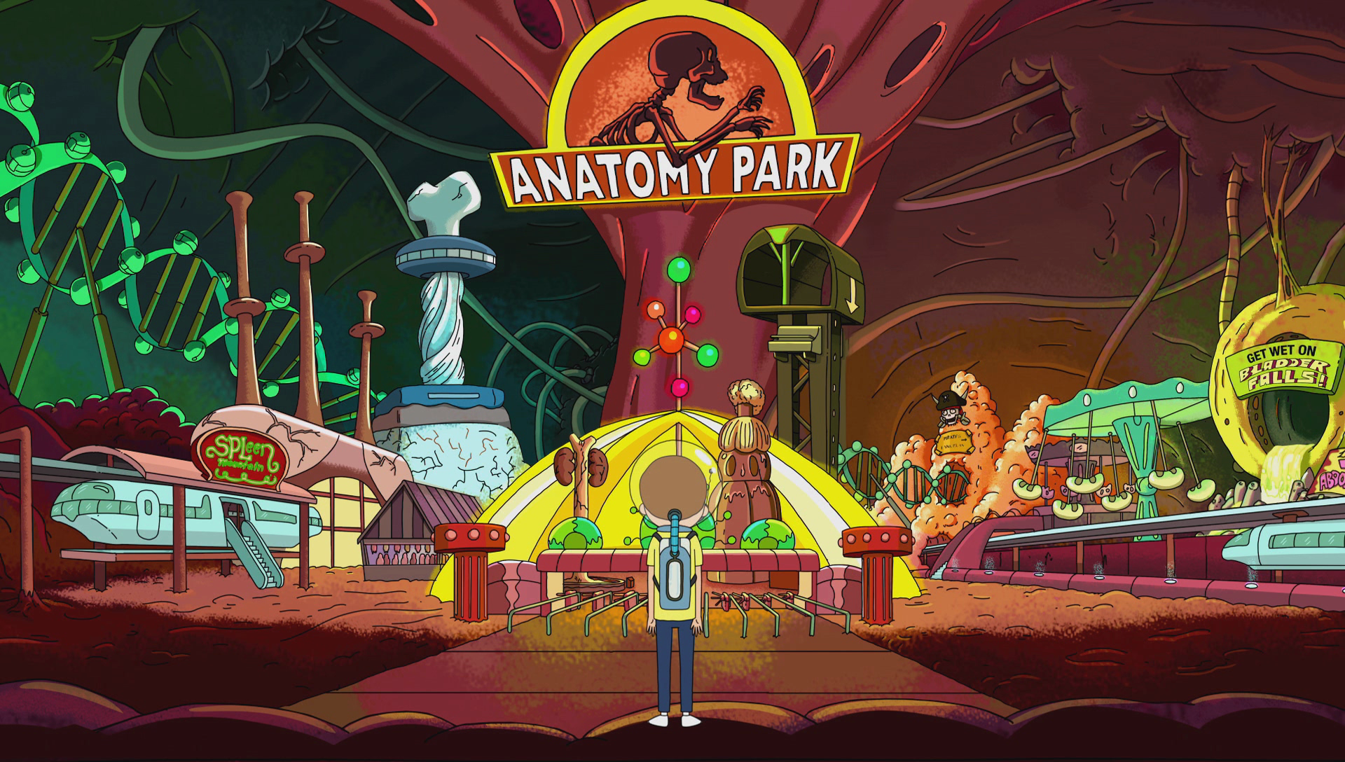 Image result for anatomy park