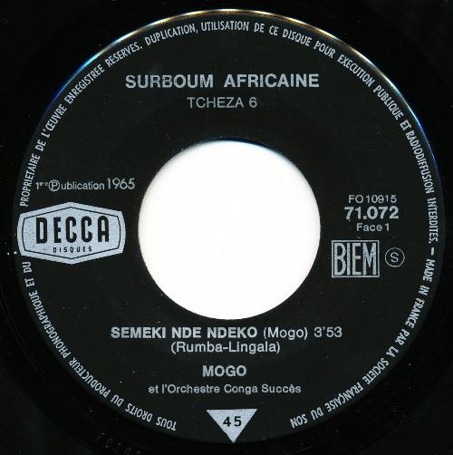 Decca 71072 A 500