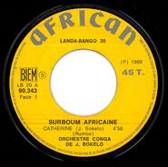 Johnny Bokelo - Catherine (African 90.343) L 1