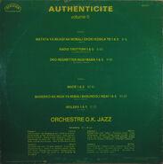 OK Jazz Autehticite5, back