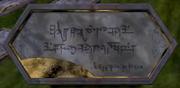 Amadak Tombstone Untranslated