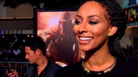 Riddick Keri Hilson World Premiere Interview