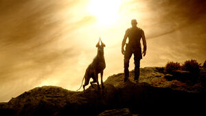 Riddick and His Dog 2