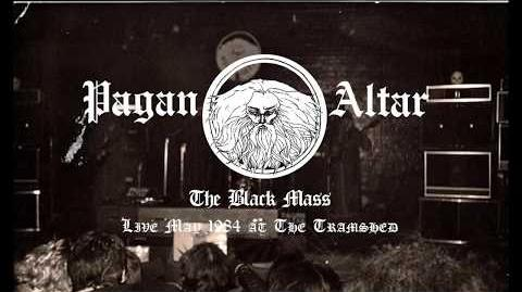 Rare Pagan Altar live footage 1984 - The Black Mass
