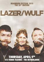 Roadburn 2015 - Lazer - Wulf