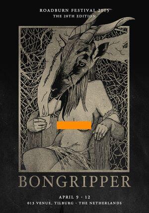 Roadburn 2015 - Bongripper - Censored