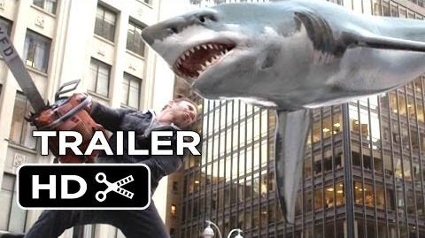 Sharknado 2 The Second One Official Trailer 1 (2014) - Syfy Channel Sequel HD