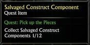 Salvaged Construct Component