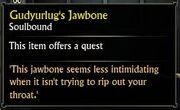 Gudyurlug's Jawbone