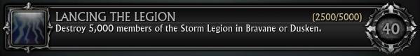 Lancing the Legion