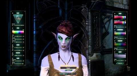 Female Kelari Character Creation