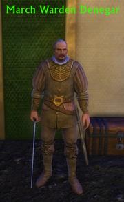 March Warden Denegar