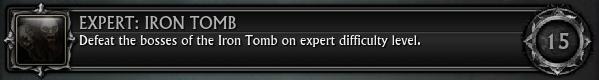 Expert Iron Tomb
