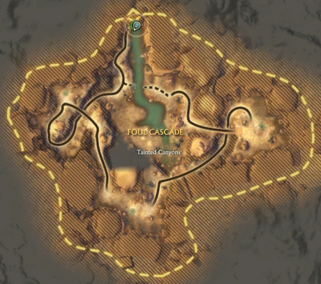Foul Cascade Map
