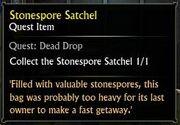 Stonespore Satchel