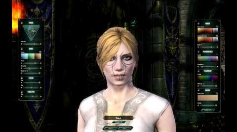 Female Mathosian Character Creation
