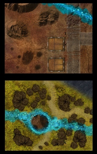 SavageRifts CombatMap1