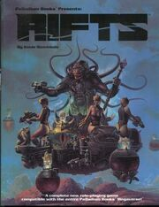 Rifts RPG 1st Ed 1990