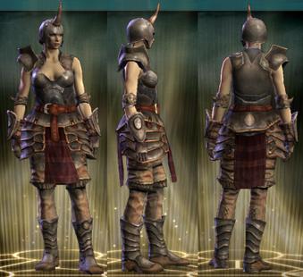 Warlord's Set Female