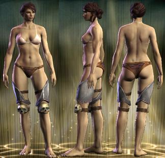 PvP R4 Plate Legs Legionnaire Female