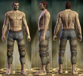 Hussar's Plate Legs Male