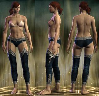 PvP R6 Cloth Clairvoyant Legs Female