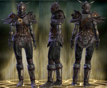 PvP R6 Leather Set Vigilante Female