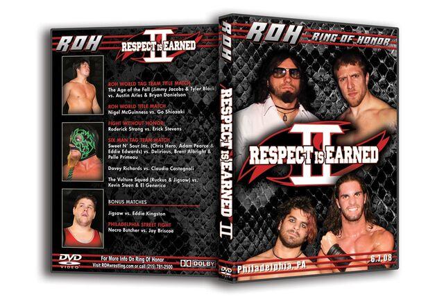 File:Respect is Earned II dvd.jpg