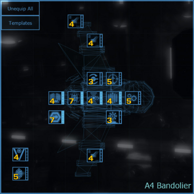 A4 Bandolier blueprint updated