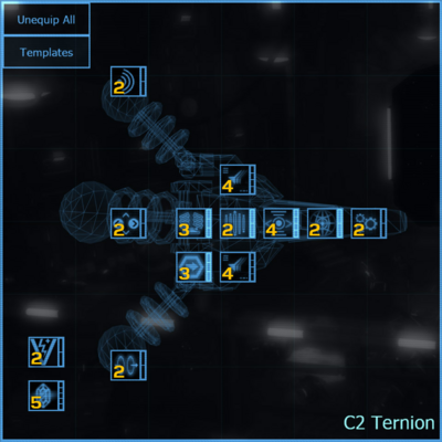 C2 Ternion blueprint updated