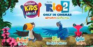 Rio 2 kids meal