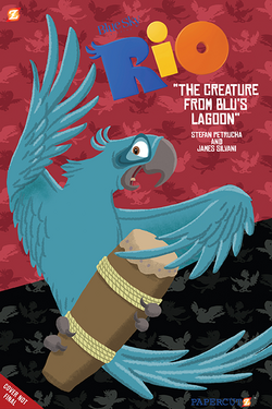 The Creature From Blu's Lagoon
