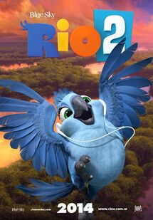 Rio 2 Poster ft Carla