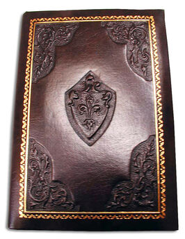 Journal leather bound