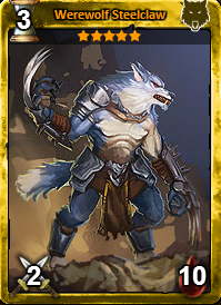 Werewolf Steelclaw