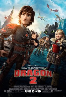 HTTYD2 Group Poster