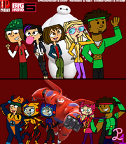 Total drama disney big hero 6 by quickdrawdynophooey-d86xspn