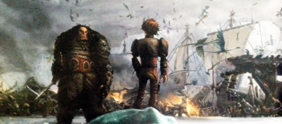 Hiccup and drago httyd 2 concept art by thegrzebol-d7h7z51